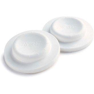 PHILIPS AVENT Les couvercles accessoires pour sucette, blanc