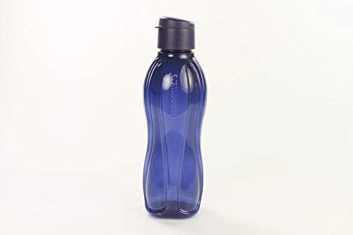 TUPPERWARE To Go Eco blau Öko Trinkflasche 1,0 L 10202