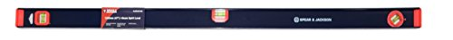 Spear & Jackson Slibeam1200 Bricklayers I-Beam Spirit Level, Blue/Red, 1200 mm (48 Inch)