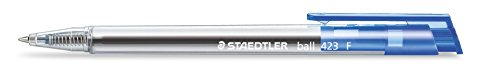 Línea de lápiz Staedtler 423 F-3 Bolígrafo anchura M, 0,3 mm, 10 piezas en una caja de cartón, azul