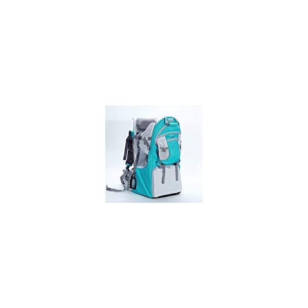 Baby Toddler Hiking Backpack Carrier Camping Child Carriers with Rain Cover Stand Child Kid Sun shade Visor Shield ,Holds up to 50 Pound Ideal for Children Between 6 months-4 years Old (GNblue) TeckCool_Store 【HIKING AND WALKING BABY CARRIER】The high quality Backpack Child Carrier is made of strong but lightweight metal frame and 600d oxford cloth, It is approved by American Society of Testing Materials (ASTM) , it can withstand the elements and daily use especially for walking, hiking or even camping. 【SAFE AND COMFORTABLE SPACE FOR CHILD】Your child will be carried safely in his padded cocoon with DOUBLE protection safety jacket,safety straps and stirrups. The Baby Backpack also has a retractable canopy which can be store in the back bag that shields your little one from the elements. You can also use the full rain cover in the raining day. 【EASY TO CARRY& USE】With adjustable joint,the metal stands allow it to sit upright on a flat surface and can be quickly folded in when on the go. Easy for you to carry. Folds flat for easy storage and portability. Ideal for children from 6 months up to 4 years - max weight: 50 pounds ( approx. 25kg) 1