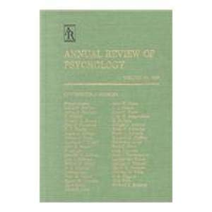 Annual Review of Psychology: 1992
