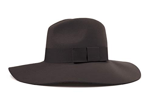 Brixton Damen Womens Hat PIPER  Black/Black, XS Filz Rock