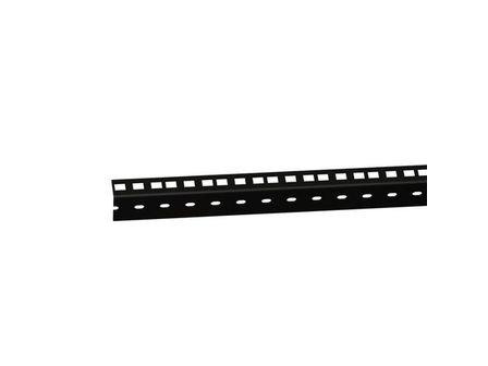 ah Hardware 61535B10 Adam Hall 48,26 cm (19 Zoll) Parts HD Rackschiene 10 HE schwarz - 2