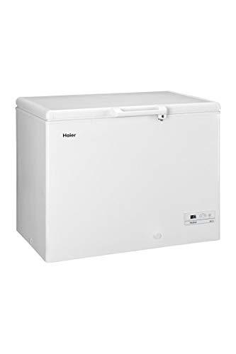 Haier HCE319R Autonome Coffre 319L A+ Blanc congélateur - Congélateurs (Coffre, 319 L, 21 kg/24h, SN-T, Système anti-gel, A+)