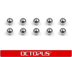 Metallkugeln für Canon BC 01, 02 BX, HP 15, HP 45 Patronen (10 Stück), non-OEM