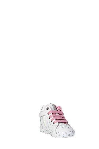 Laufschuhe M�dchen, farbe Wei� , marke GEOX, modell Laufschuhe M�dchen GEOX B KIWI GIRL Wei� Bianco