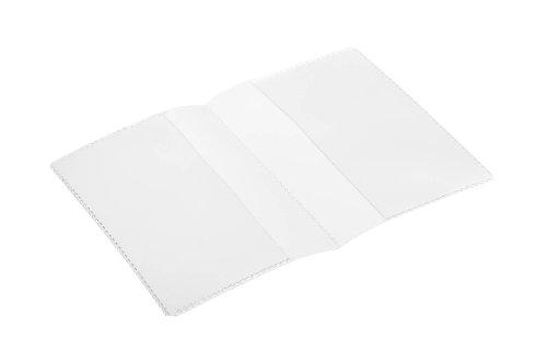 Durable 213819 Schutz- und Ausweis-/Doppelhülle (für Dokumente DIN A7, 148 x 105 mm) 10 Stück transparent