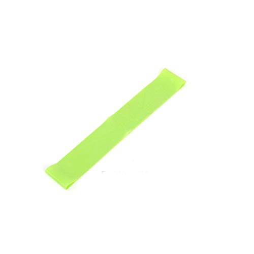 Colorjoy resistance loop bands yoga per esercizi di resistenza elastici indoor outdoor fitness equipment 0.35 mm-1.1 mm pilates sport allenamento elastici 5 colori, green, 600mm*50mm*0.35mm