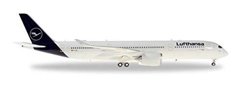 Herpa 559577 Lufthansa Airbus A350-900, Wings/Flugzeug zum Sammeln, Mehrfarbig