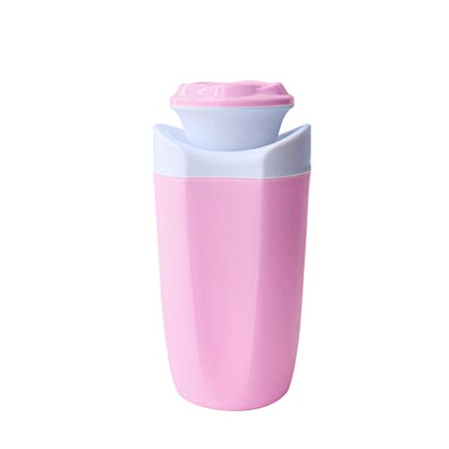 LED-Licht USB-Mini-Desktop-Befeuchter Cup Air Aroma Diffuser Purifier - Pink ()