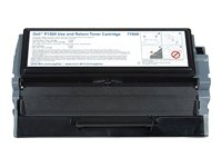 Dell 7Y608 Standard Capacity Toner Cartridge für P1500 Laser Printer, Use and Return, 3000 Seiten, schwarz