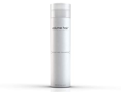 VOLUME HAIR+® Volumen Shampoo für Damen & Herren 250ml feines strapaziertes Haar für trockene empfindliche Kopfhaut & fettiges Haar & Locken - für festes griffiges Haar - Volumenshampoo - Seife Fülle