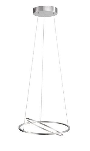 Paul Neuhaus Pendelleuchte, 1 x LED / 20 W und 1 x LED / 10 W / 3000 K, Innenleuchte, IP20, stahl 2210-55