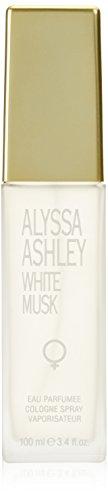 Alyssa Ashley White Musk femme/woman, Eau de Cologne, 100 ml