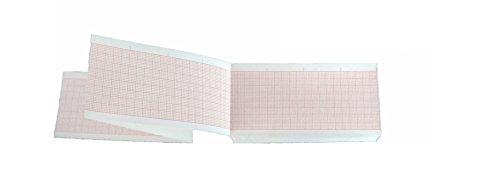 EKG-Thermopapier in Faltlagen zu Nihon Kohden FQS50-3-100