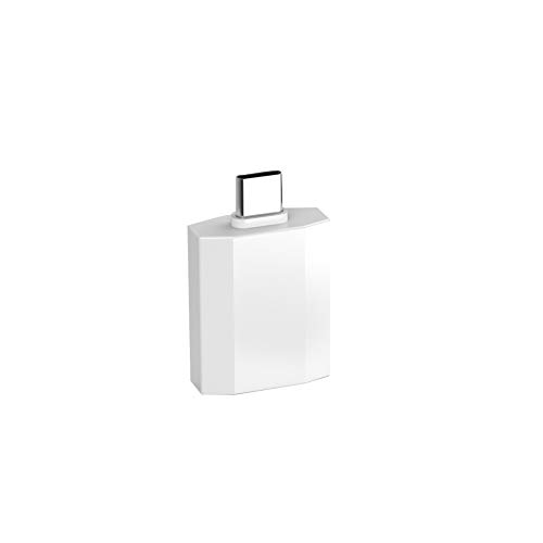 Sungpunet USB-C-auf-HDMI-Adapter USB-Typ-HDMI-kompatiblen Converter Multifunktionale Zink-Legierung Adapter Typ-C-Geräte Pearl White