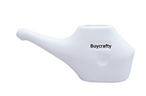 buycrafty Traveller 's Neti Pot für Nasale Reinigung, Little Teekannen mit lang Ausgießern, Wirtschaft, leichtes Neti Pot | Handlich, kompakt & Travel Freundlicher - Wirtschaft-werkzeug