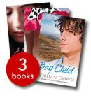 SIOBHAN DOWD 3 BOOK SET - Boy Child, Solace of the Road, A Swift Pure Cry