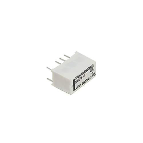 NA-12W-K Relay electromagnetic DPDT Ucoil12VDC 0.5A/125VAC 1A/30VDC -