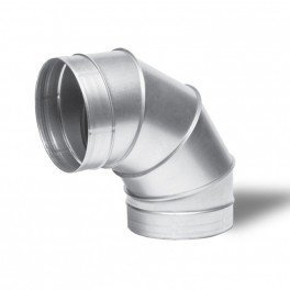 Raccord - Angle métal 90° 200mm - Winflex ventilation