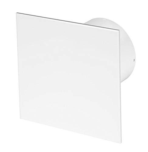 100mm Timer Dunstabzugshaube Weiß ABS Frontblende TRAX Wand Decke Belüftung
