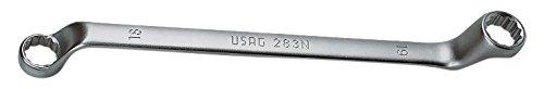 USAG 283 N/SE13 U02830304 Serie di 13 Chiavi Poligonali Doppie Curvate