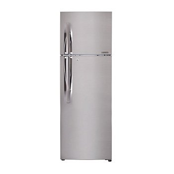 LG 255 L 3 Star Frost-Free Double Door Refrigerator (GL-Q282RPZY.EPZZEBN,...