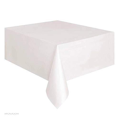 Manteles desechables rectangulares plástico picnic