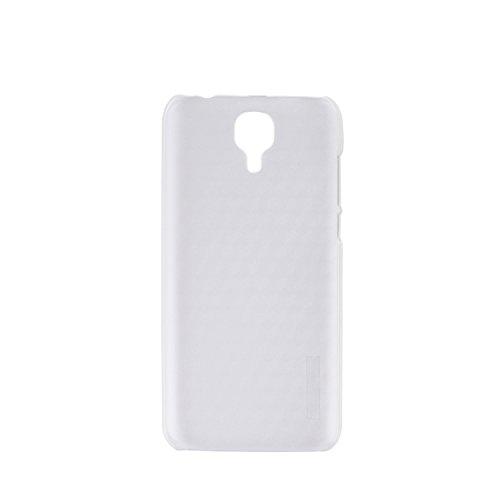 Guran® Hart Plastik Schutzhülle Case Cover für Doogee X9 PRO Smartphone Hülle Handytasche Etui-transparent weiß