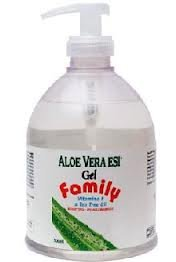 ESI Aloe Vera 500ml Gel Tree + Thé