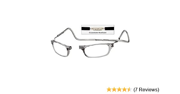 d2743999e0 Reading Glasses Clic front connection glasses Clear-Strength +1.50   Amazon.co.uk  Health   Personal Care