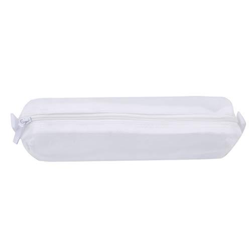 VWH Pochette Multifonctionnelle de Maquillage De Sac Cosmétique de Voyage de Sac de Brosse (blanc)