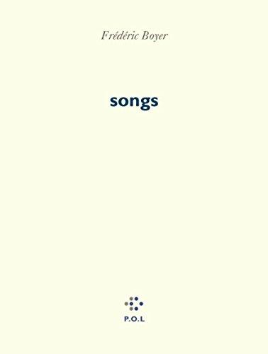 songs par Frédéric Boyer