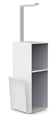 Better Living Produkte Nuvo WC-Valet mit Magazin Rack -