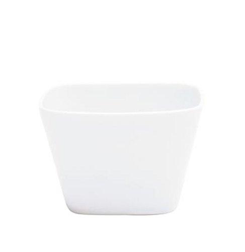 Kahla - Porcelaine pour les Sens 206010A90020C Abra Cadabra Bol Anguleux Blanc 9 x 6 cm