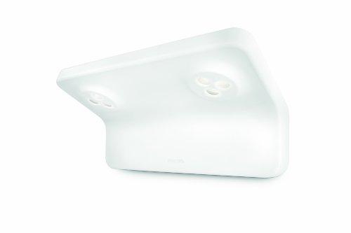 Philips-VANITAS-Lampadario-da-Parete-LED-2x-75-W-Lampadina-Non-Inclusa