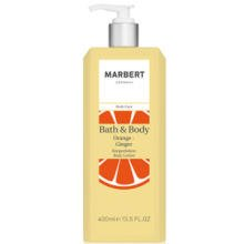 Marbert Bath und Body Orange-Ingwer femme/women, Body Lotion, 1er Pack (1 x 400 ml)
