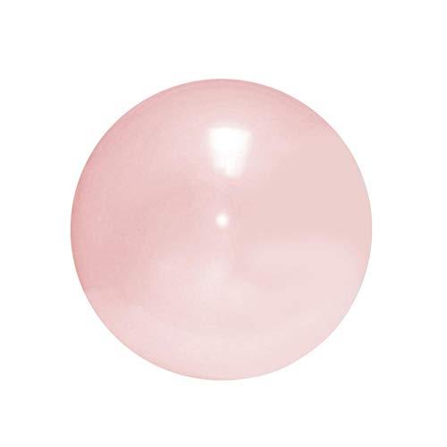 dewdropy Übergroßer Riese Aufblasbarer Wasserball mit Wasserball gefüllt Mehrzweckkomfort ABS TPR Latex weich transparenter elastischer Ball aufblasbarer Ball für Kinder