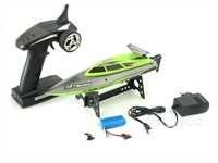 Monstertronic RC Racing MT Speed Boat Vedette rapide radiocommandé RTR 2,4GHz avec batterie Li-ion Li-polymère, chargeur 6027