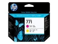 HP 771 Original Druckkopf magenta und gelb