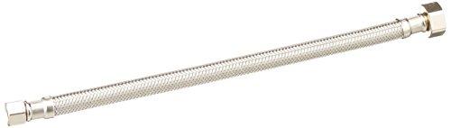16.850741123/8Zoll Comp von 1/2Zoll FIP von 12Zoll Edelstahl verstärkt Wasserhahn Zuleitung