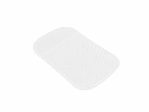 smartec24® Antirutschmatte transparent Haftmatte ideal für KFZ Auto Armaturen als Handy Matte und alle glatten Oberflächen zum Fixieren aller Kleinteile wie Handy Smartphone Brille Geldmünzen und als Unterlage für Artikel die bei Arbeiten fest sitzen sollen und nicht verrutschen dürfen