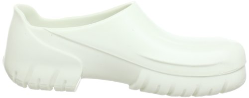 Birkenstock Classic A 640Sabots mixte adulte Blanc - Elfenbein (Weiß)