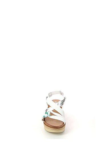 Sa1593 P Grunland Bianco Donna Sandalo Coco ZxUdUBwv