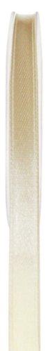 Schleifenband 50m x 3mm ELFENBEIN creme SATINBAND Geschenkband DEKOBAND -
