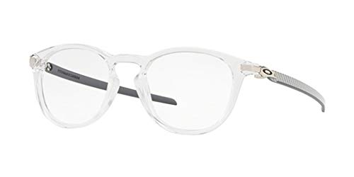 Ray-Ban Herren 0OX8149 Brillengestelle, Braun (Polished Clear), 50