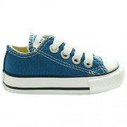Converse  Ctas Season Ox,  Sneaker unisex bambino A Blue