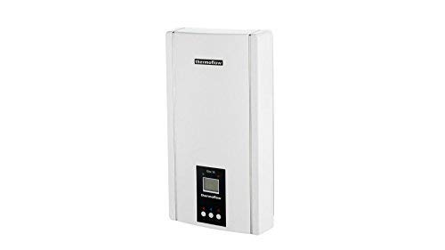 Elektronischer Durchlauferhitzer Elex 24 N Thermoflow 24 kW Boiler - LED Display - bis zu 75 °C - Neues Modell ...