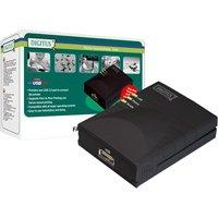 Digitus DN-13003-W Netzwerk Print Server 1-port USB 2.0 schwarz